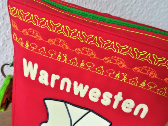 Neue Warnwesten-Tasche