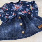 Girly Sweater für die Murmel - Gr. 122