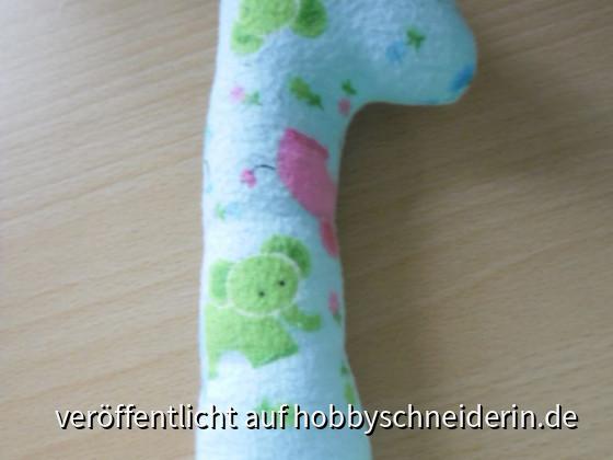 Greifspielzeug Giraffe aus dem Buch : Einfach nähen für ihr Baby