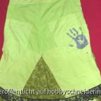 Salewa-Outdoorhose, hier die original Hand von Salewa noch zu sehen.