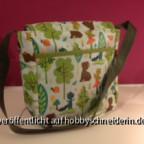 Kindergartentasche von hinten