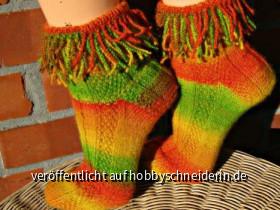 Rasta Locken Socken :)