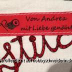 Label für Andrea