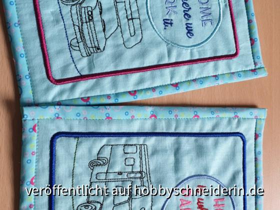 Tassenuntersetzer für Wohnmobilisten