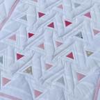 Dreiecke fertig gequiltet