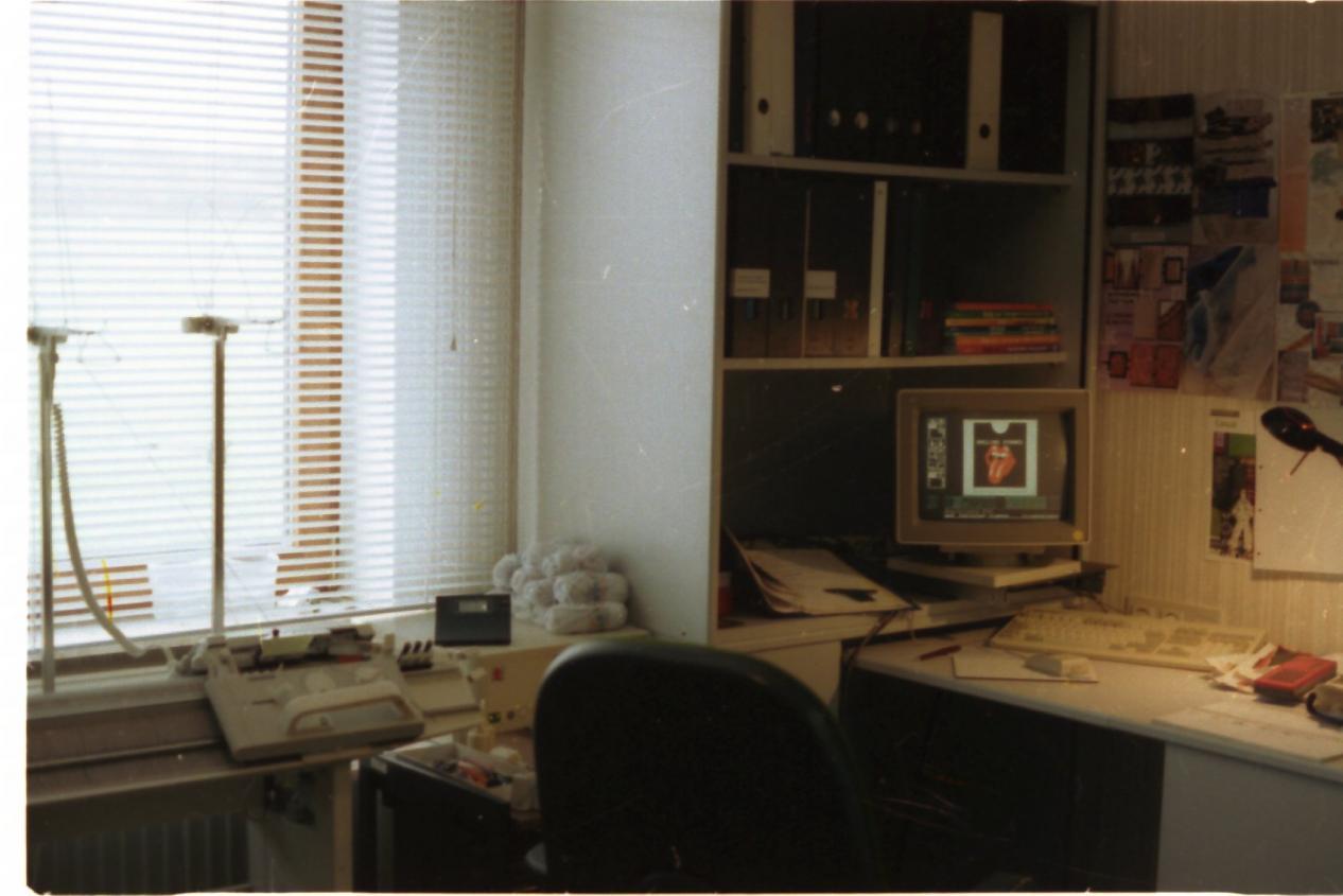 1992 Ein wirklich alter Computer