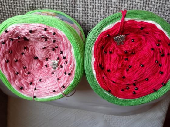 Bobbels in Melonen Farben
