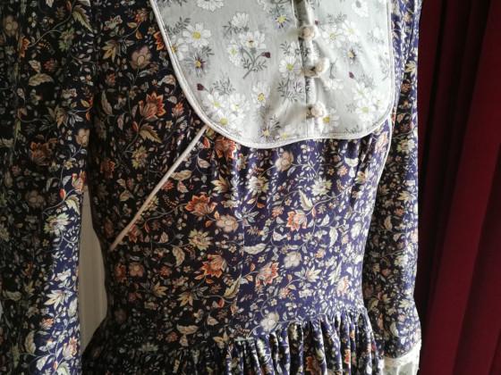 Westernkleid aus der Burda 9/2015