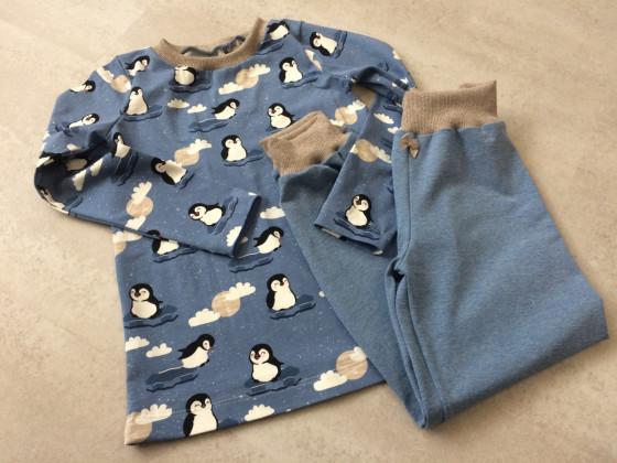 Schlafanzug Pinguine für die Murmel