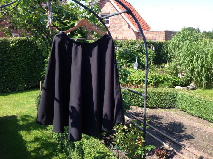 Sehr schwarz....da muß noch irgendwas farbiges drauf....