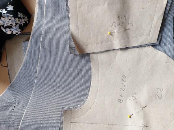 Zuschnitt Hose