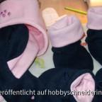 Mütze, Handschuhe, Schal und Überschuhe aus Fleece 004