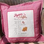 Ein Kissen für die Wohnküche