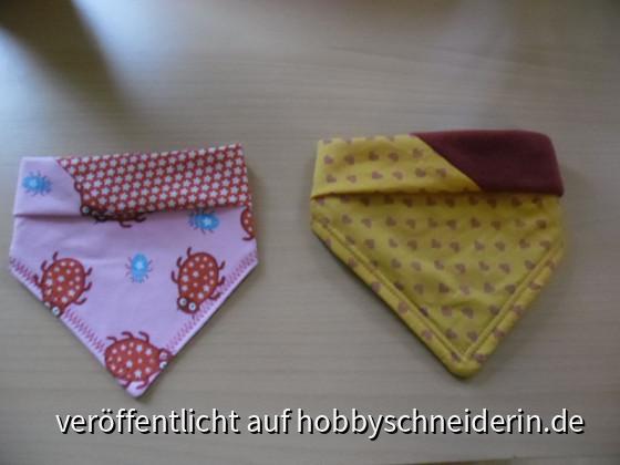 Halstücher für Babys; Anleitung von Farbenmix