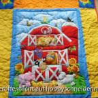 Babydecke für das Kind meines Stiefbruders