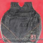 Gürteltasche angefertigt aus den Taschen einer ehemaligen Cargohose