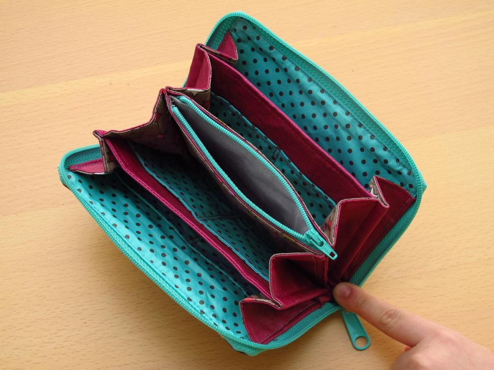paper piecingAnna's Tasche