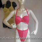 Pinkfarbener BH