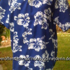 Aloha oder Hawaii Hemd aus einem Vintage Hawaii Stoff aus den USA