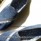 Espadrilles Jeans Paar