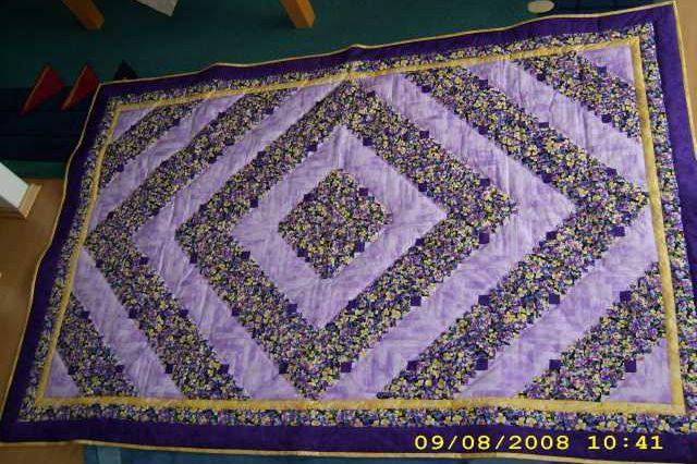 Das ist mein aller erster Quilt gewesen.