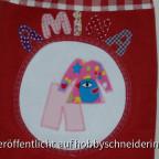 Passend zur Kindergartentasche auch eine Ratzfatztasche in die die Wechselkleidung kommt.