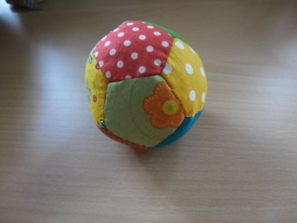 Spielball; Anleitung aus Patchwork Magazin Spezial Kinderzimmer