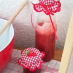 Deckchen für die leckere Erdbeersoße