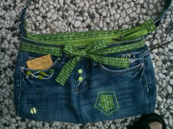 Täschle aus Jeans