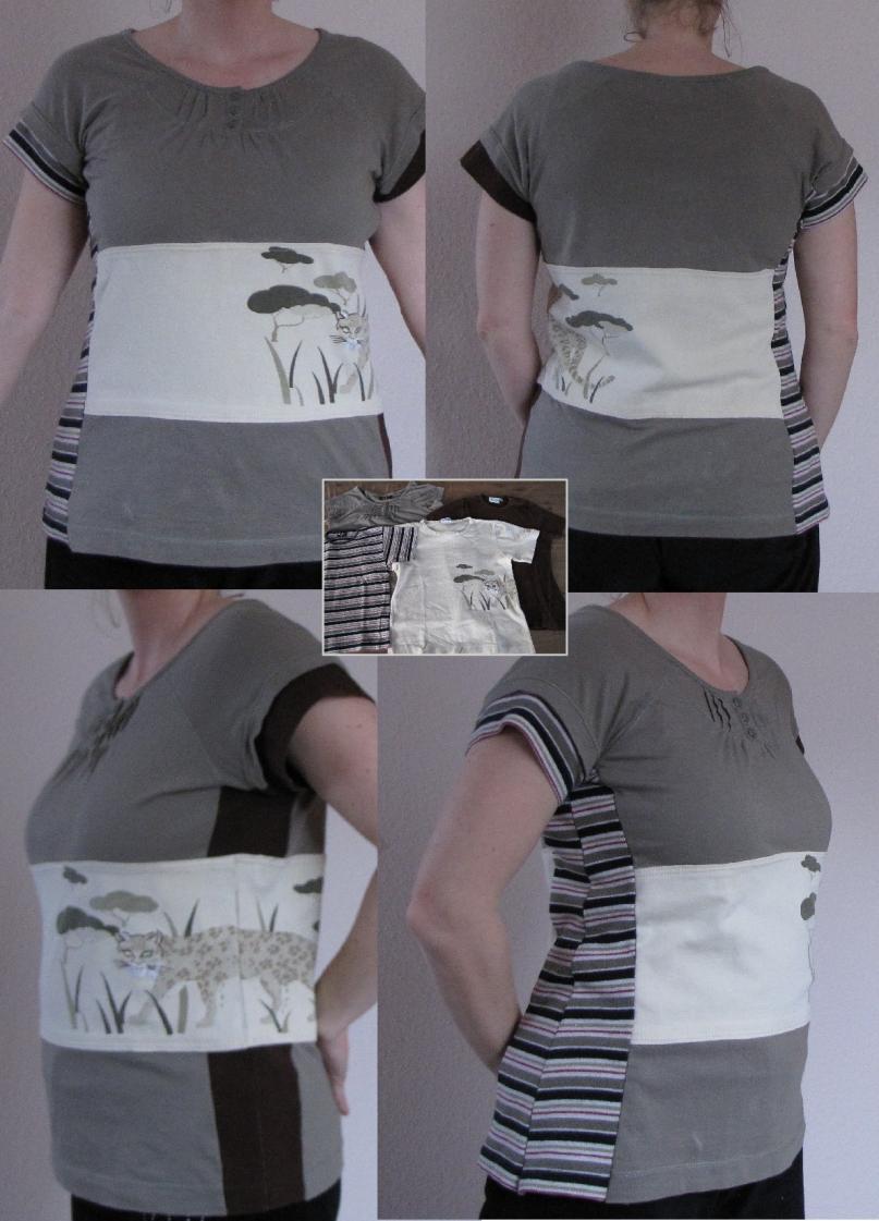 Projekt Tshirt aus 4 mach 1