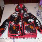 Winterjacke mit passender Hose und Halssocke aus Fleece