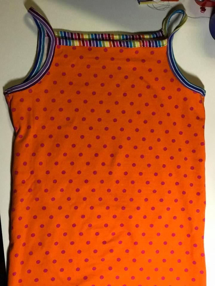Trägershirt/Unterhemd v Klimperklein Gr. 158