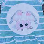 Cutie Shirt aus Bird Panel Gr. 122