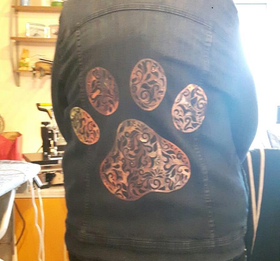 Jeansjacke gepimpt