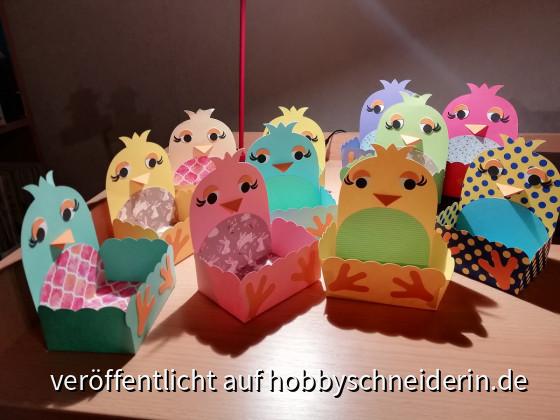 lustige Osterkörbchen