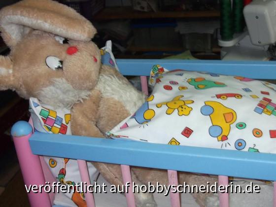 Harvey mit neuer Bettwäsche 008