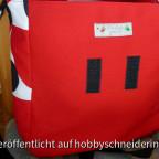 Geburtstagsgeschenk für eine liebe Freundin - Satchel mit Klettverschluss und Innentasche