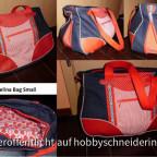 Schnabelinabag Small, mit Zip-It, verwende ich als Handtasche.
