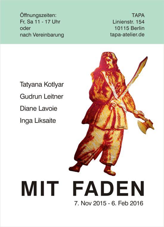 Ausstellung Mit Faden