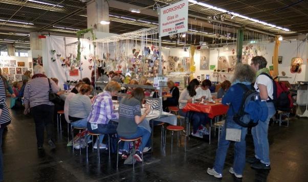 Kreativ Welt Frankfurt Workshop
