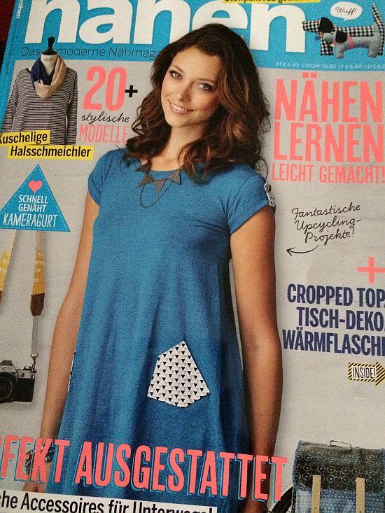 Zeitschrift Simply Nähen 2015