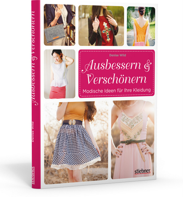 Buch Ausbessern und Verschönern
