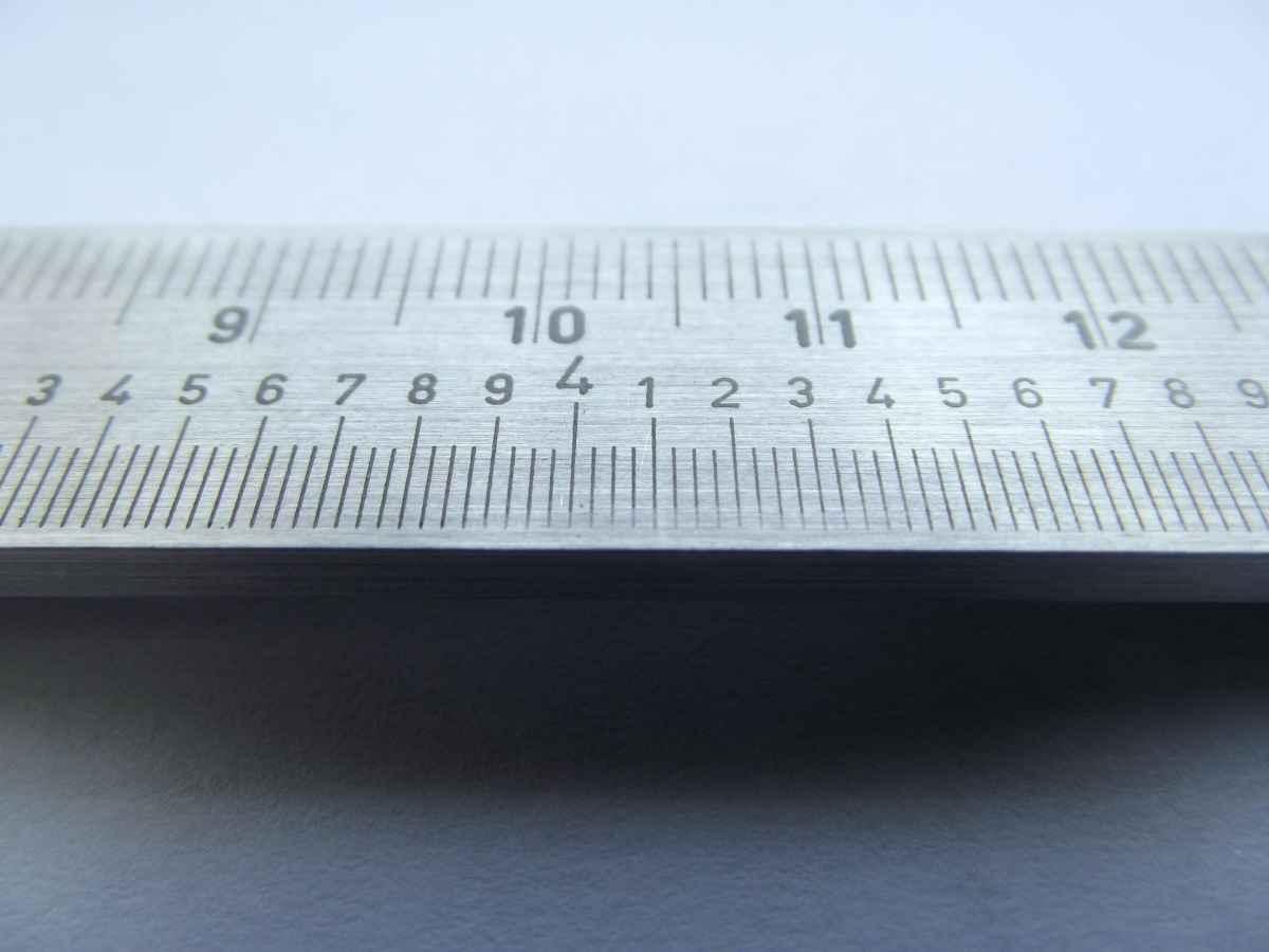 Maßband messen