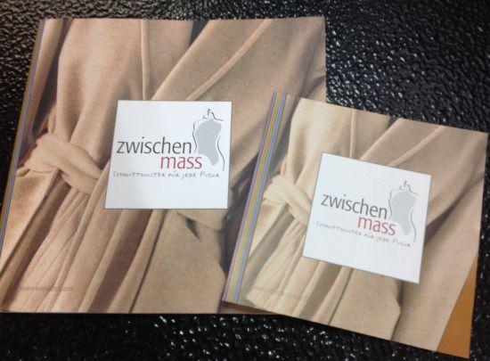 Zwischenmass Katalog und Flyer