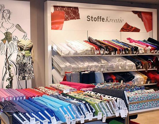 Karstadt Mühlheim Stoffe Umbau
