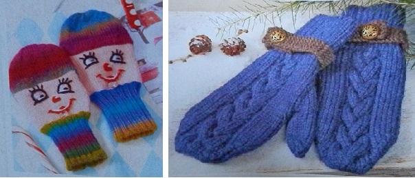 Anna Dezember 2014 Handschuhe