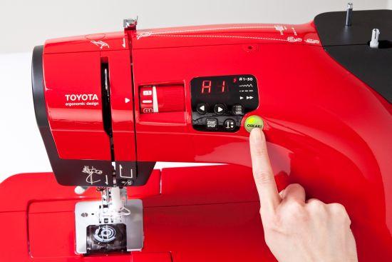 Nähmaschine Toyota Red Oekaki Taste