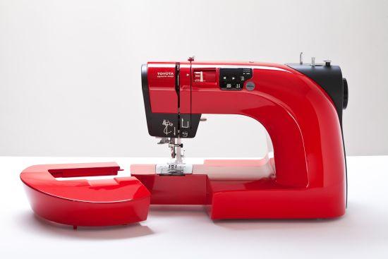 Nähmaschine Toyota Red Freiarm