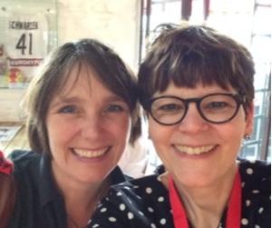 Tanja Steinbach und Anne Liebler
