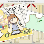 Anleitung Knopflochleiste Poloshirt Anouk